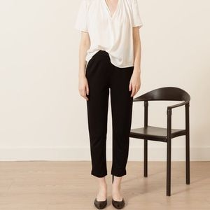 Modern Citizen Large Cropped Trouser Ankle Pants